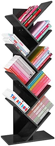 Cheap Maxiii 9-Tier Tree Bookshelf modern bookcase for sale