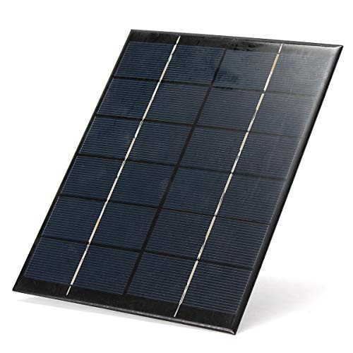- 5.2W 6V Energy Mono Solar Panel Charger For Car Boat Power RV - Arduino Compatible SCM & DIY Kits Smart Robot & Solar Panel - 1x 6V 5.2W Single Crystal Solar Panel