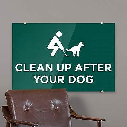 Clean Up 5-Pack CGSignLab Green Premium Brushed Aluminum Sign 18x12
