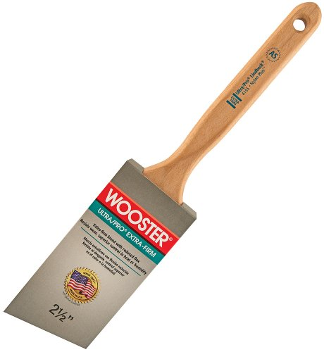 Wooster Brush 4153-2-1/2 Ultra/Pro Extra-Firm Lindbeck Angle Sash Paintbrush, 2-1/2-Inch
