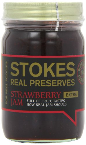 Stokes - Real Preserves - Strawberry Jam - 454g by Stokes