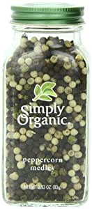 Simply Organic Peppercorn Medley, 2.93 Ounce