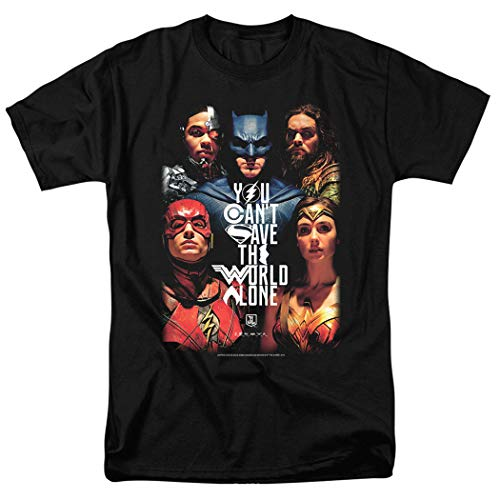 Justice League Movie DC Comics T Shirt (X-Large) from Popfunk