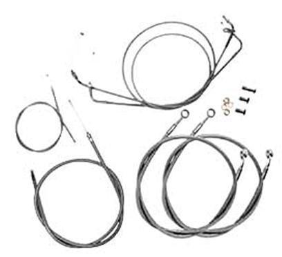 Baron Custom Accessories Cable/Brake Line Kit (+2in.) - Baron Cable Custom Accessories