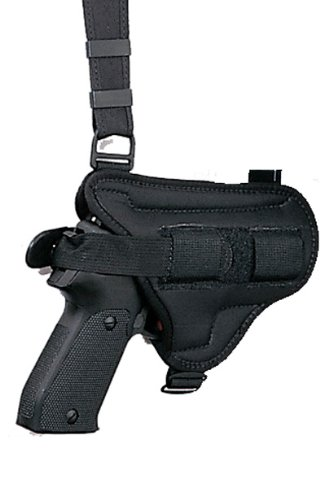 Bianchi 4620 Tuxedo Rig Shoulder Holster - Semi Auto3-5 Square Guard (Black)