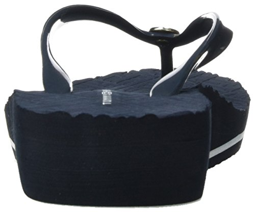 Tommy Hilfiger M1285ona 16r, Sandalias de Punta Descubierta para Mujer Azul (Midnight 403)