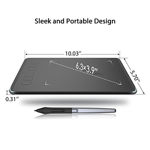 Huion INSPIROY H640P Digital Graphics Drawing Pad
