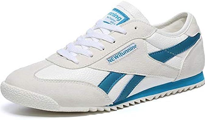 Qiong YaoTIAN Hundunsnake T622####1265 - Zapatillas Deportivas para Hombre (Piel, para Correr, para Hombre, Peso Ligero), Color Gris, Color, Talla 39.5 EU: Amazon.es: Zapatos y complementos