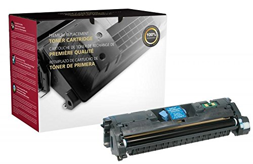 Inksters Remanufactured Cyan Toner Cartridge Replacement for HP C9701A/Q3961A (HP 121A/122A/123A) - 4K Pages -