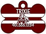 uDesignUSA NCAA Dog Tag Pet Id Tag Personalized