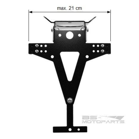 Support de Plaque MV Agusta Brutale 675 12-16