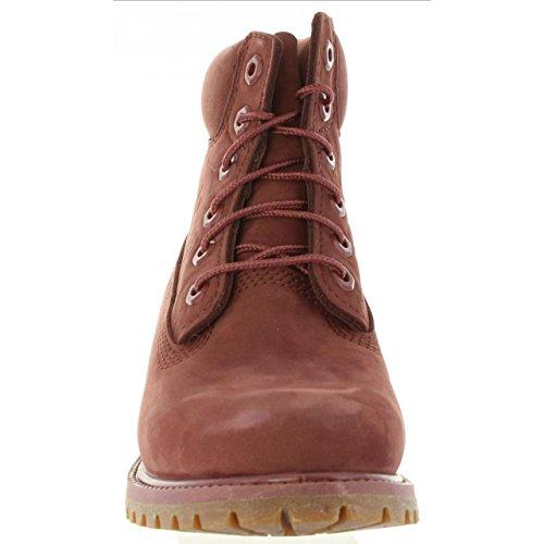 Timberland Premium 6in Boot Ca1k3o Bordeaux Stivali W Sable BBz7nxHq