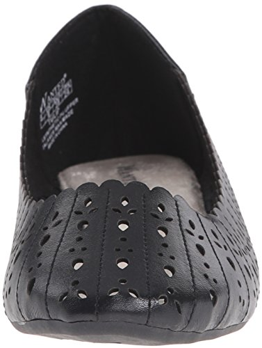 Women's Tulip Black Ballet Wanted Flat Shoes 4Z8Hv6