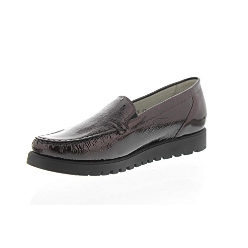 Womens Brunello Waldlaufer Leather Bordo Shoes 549001 Hegli p8xx7wdPqU