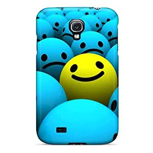 Fashionable Style Case Cover Skin For Galaxy S4- Smiley Faces