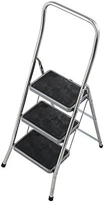 Krause – Escalera plegable toppy XL, 1 pieza, 3 niveles, 130877: Amazon.es: Bricolaje y herramientas