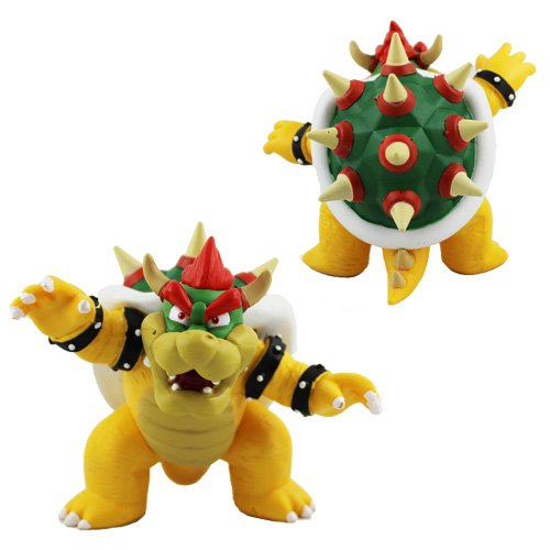Super Mario Bros Brothers - Bowser Action Figures Collection