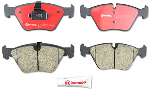 Brembo P06043N Front Disc Brake Pad (Bmw Performance Brakes)
