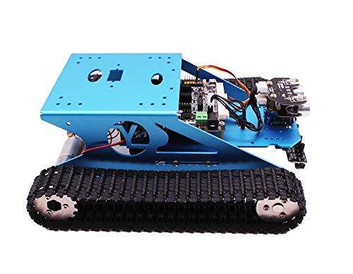 G1 Arduino Yahboom Intelligenter Roboterpanzer Fahrgestell-Roboter-Kit für das Arduino Elektronisches Projektlernen Wissenschaftliche STEM Ausbildung für Kinder