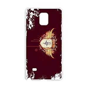 NICKER Wings Badge Custom Protective Hard Phone Cae For Samsung Galaxy Note4