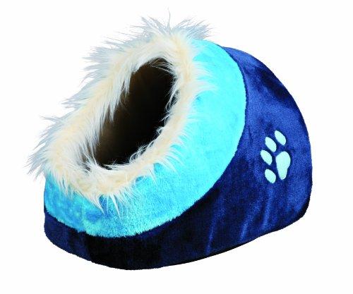 Abri-douillet-Minou-35--26--41-cm-bleu-foncbleu-pour-Petit-ChatChien