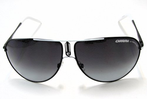 ecc9f688f718 Carrera Gipsy/S Sunglasses GipsyS HMF/V4 Black/white Shades: Amazon.co.uk:  Clothing