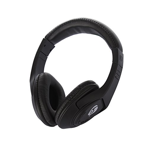 Wireless Bluetooth Headphones Over Ear,Jeselry V4.2 Bluetooth Wireless Hi-fi Stereo Headphones for Smart Phones & Tablets – Black