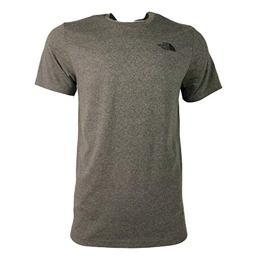 - The North Face Menâ€s Short Sleeve Simple Dome T-Shirt, Grey, S