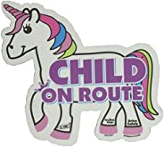 Baby on Route, Child on Route - Unicorn Magnet