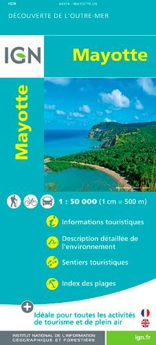 Mayotte (Comoro Island) Domtom 2016: IGN84976 (French Edition)...