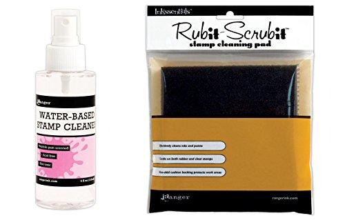 Ranger Inkssentials Water-Based Stamp Cleaner Spray &