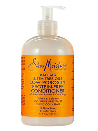 Shea Moisture Shea Moisture Baobab and Tea Tree Oils Low Porosity Protein Free Conditioner 13 Oz, 13 Fluid Ounce