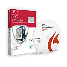 Dragon NaturallySpeaking 13 Premium + McAfee Total Protection Premium Edition