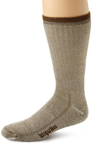 Wigwam Men's Merino Wool Comfort Hiker Crew Length Sock,olive,XL/shoe Size: Men's - Stores Online Mens