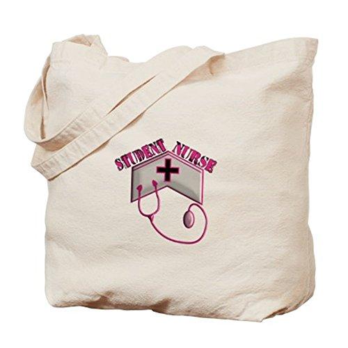 Cafepress–allattamento Student xx–Borsa di tela naturale, tessuto in iuta