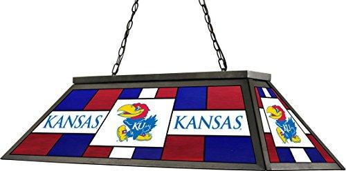 Kansas Jayhawks Stained Glass (Imperial Officially Licensed NCAA Merchandise: Stained Glass Billiard/Pool Table Lamp/Light, Kansas Jayhawks)