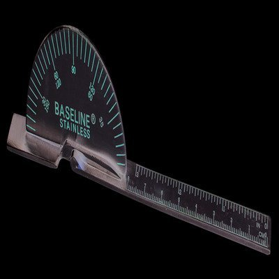 FAB12101125 - Fabrication Enterprises, Inc. Baseline SS deluxe finger goniometer, 6 inches, 25 each