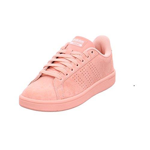 Adidas CF Advantage Cl W, Zapatillas de Deporte para Mujer Rosa (Rostra / Rostra / Ftwbla)