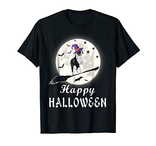 (Happy Halloween Boston Terrier Costume Shirt Gift Dog)