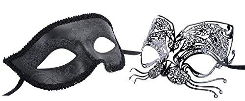 Couples Venetian Masquerade Luxury Princess