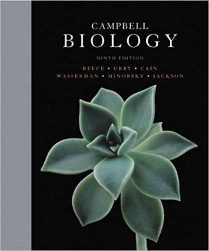 Amazon Com Campbell Biology 9th Edition 9780321558237 Jane B