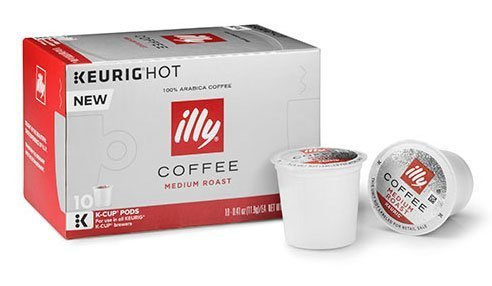 Illy K-Cup Pods 2 Boxes of 10 K-cups (Medium Roast) (Ally Coffee)