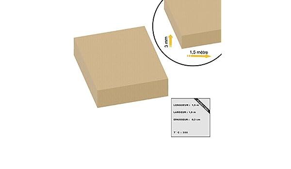 placa de fibra de 3 mm de espesor 1.5x1.5m eco: Amazon.es: Bricolaje y herramientas