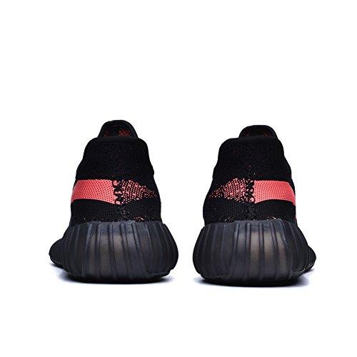 Leeng Herren Damen Atmungsaktive Mesh 350 V2 Sport Sneakers Ff