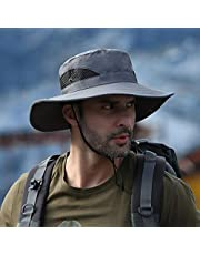 Spring and Summer Outdoor Men's Hats, Sun Protection, UV Protection, Breathable Sun Hats, Fashion Big Brimmed Hats, Fisherman Hats, Fishing Hats, Bucket Flower Viewing Hats,