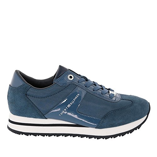 Hilfiger FW0FW01894014 Sneakers Angel scamosciate Tommy an7qOq