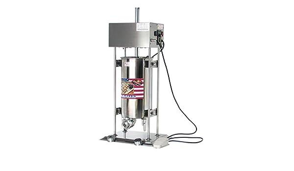 15L churro automática eléctrica de acero inoxidable churro eléctrica español Churros Panificadora 220 V - 240 V: Amazon.es: Industria, empresas y ciencia