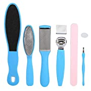 Pedicure tools Kit Foot File Rasp set Removing Hard Cracked Dead Skin Cells Scrubber, Professional Stainless Steel Foot…