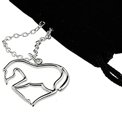 Amazon silver heart horse pendant necklace my little pony silver heart horse pendant necklace my little pony jewelry gift for girl teen women aloadofball Gallery