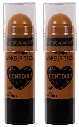 (Wet N Wild Megaglo Makeup Stick, 0.21 oz (2 Pack, 804A Oak's On)